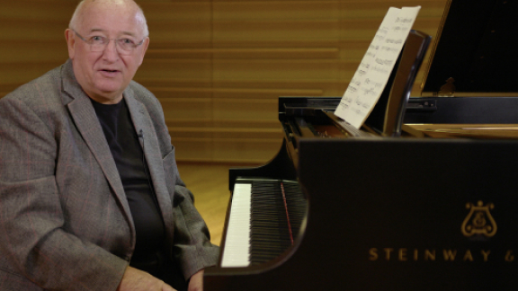 John O'Connor teaches Sonata (Haydn)