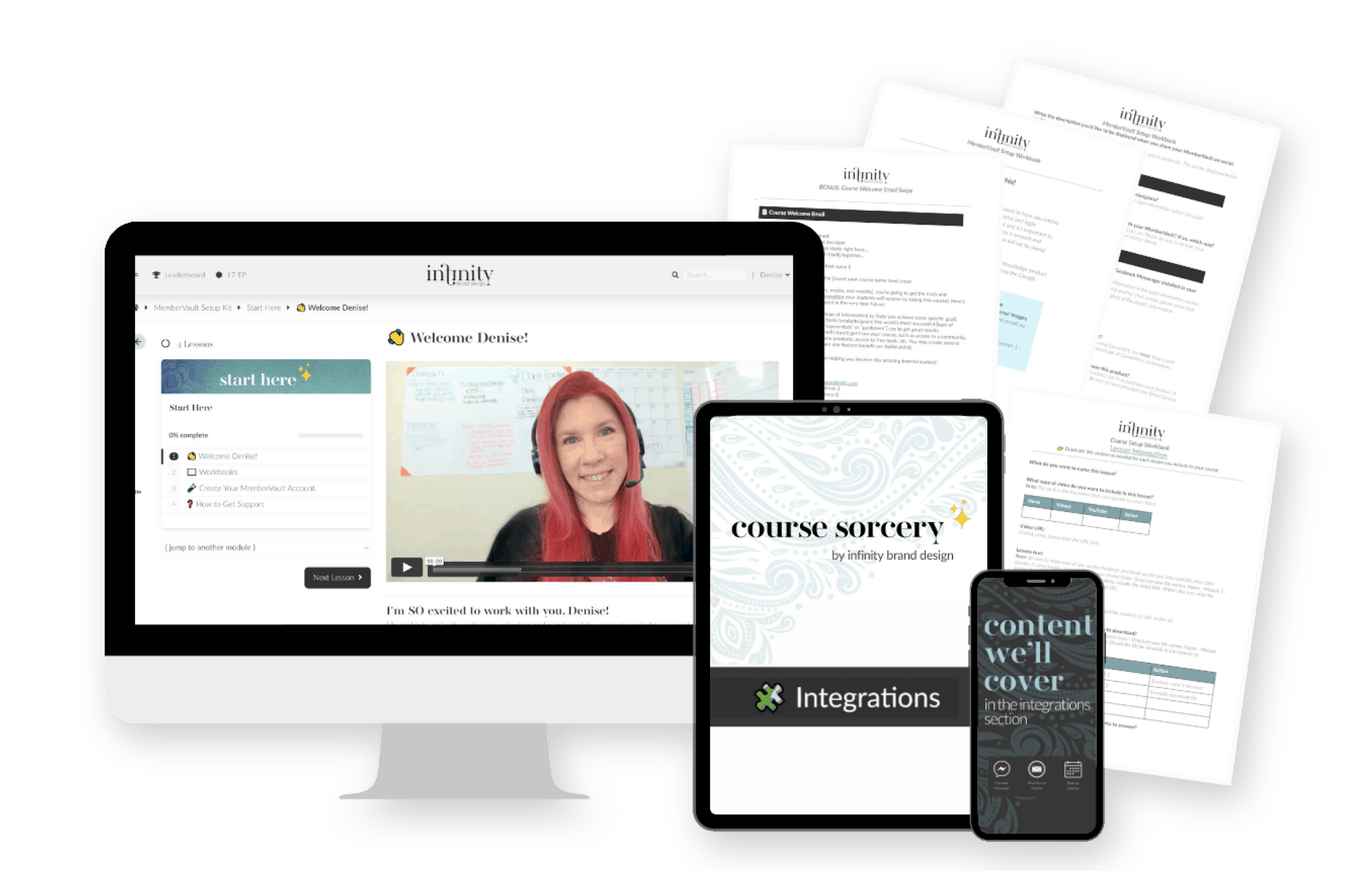 """Course Sorceryâ""""¢ - Transform your course from idea to impact!  For coaches and businesses with soul"""