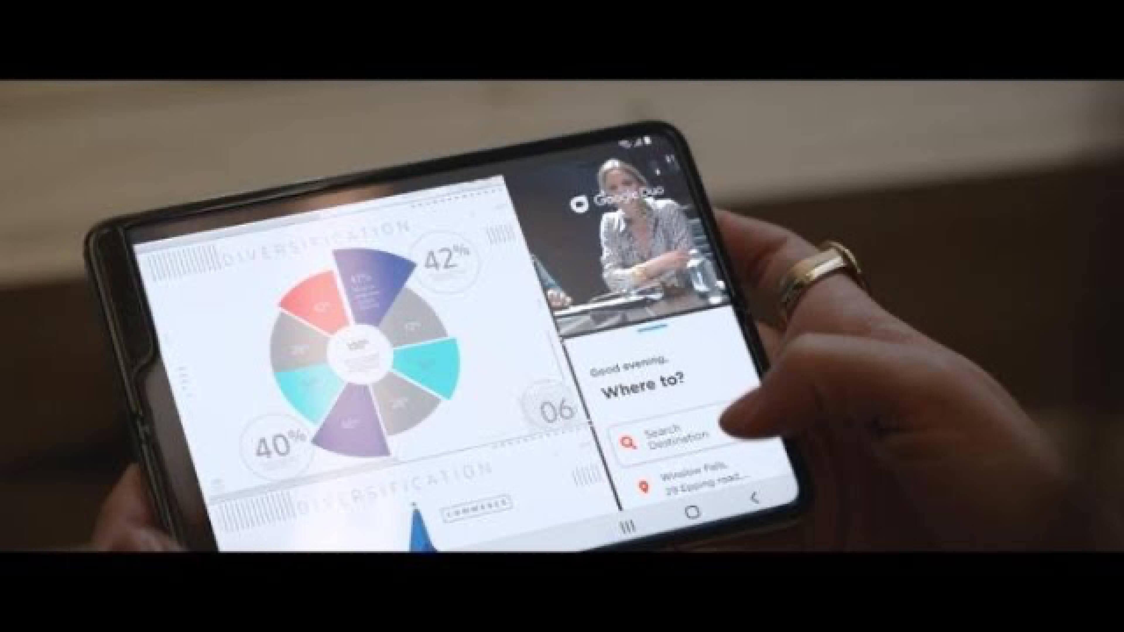 The Galaxy Fold: Multitasking