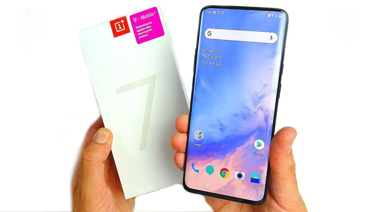OnePlus 7 Pro Hands On Unboxing!
