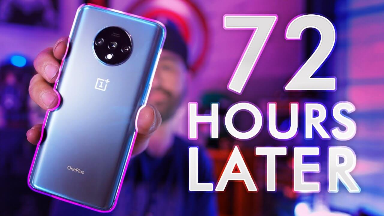 OnePlus 7T Review: 72 Hours Later! 🤙