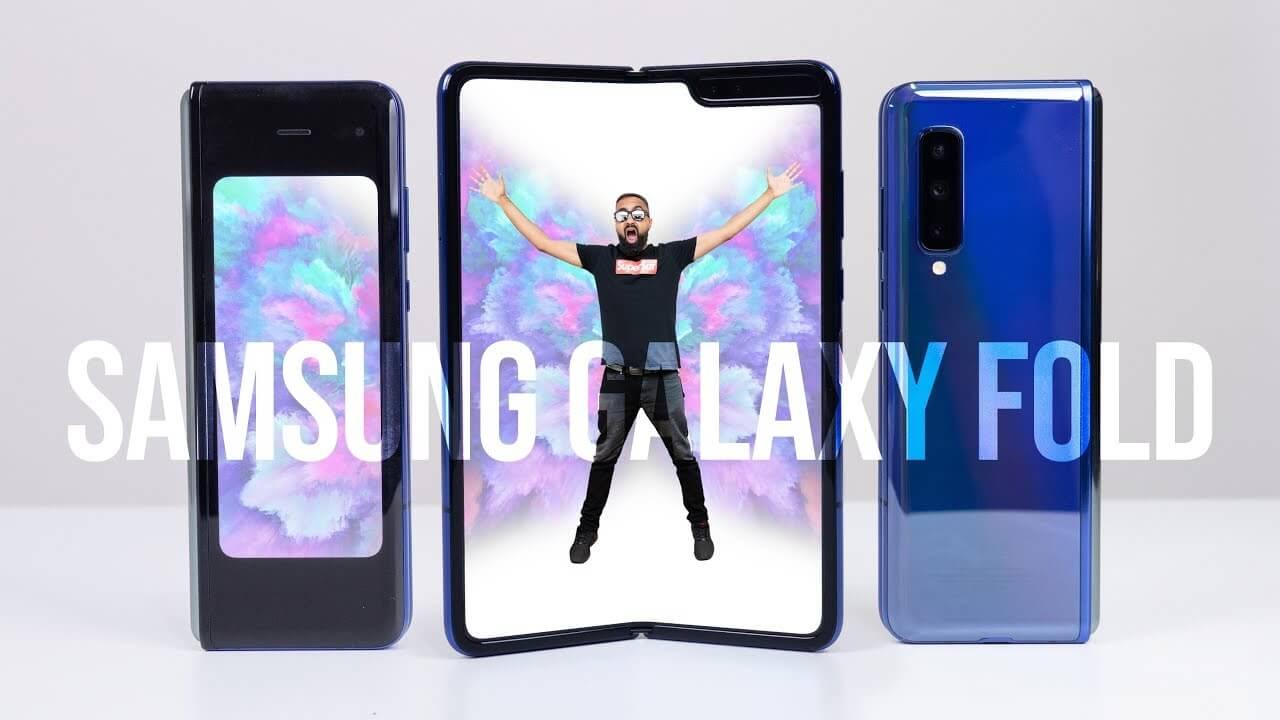 Samsung Galaxy Fold UNBOXING