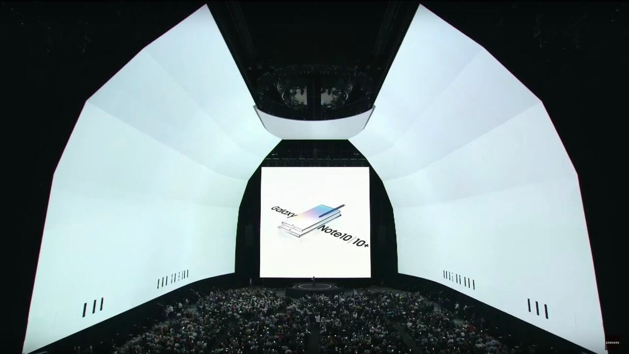 Galaxy Unpacked August 2019: Official Replay - Note10