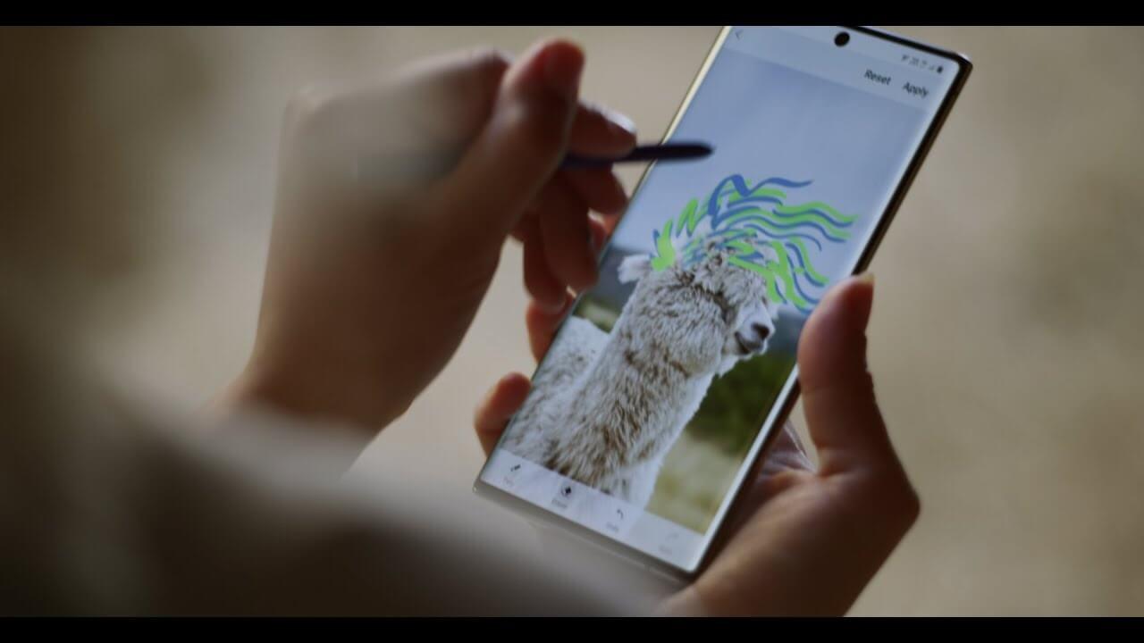 Galaxy Note10 Official Film: Alpaca