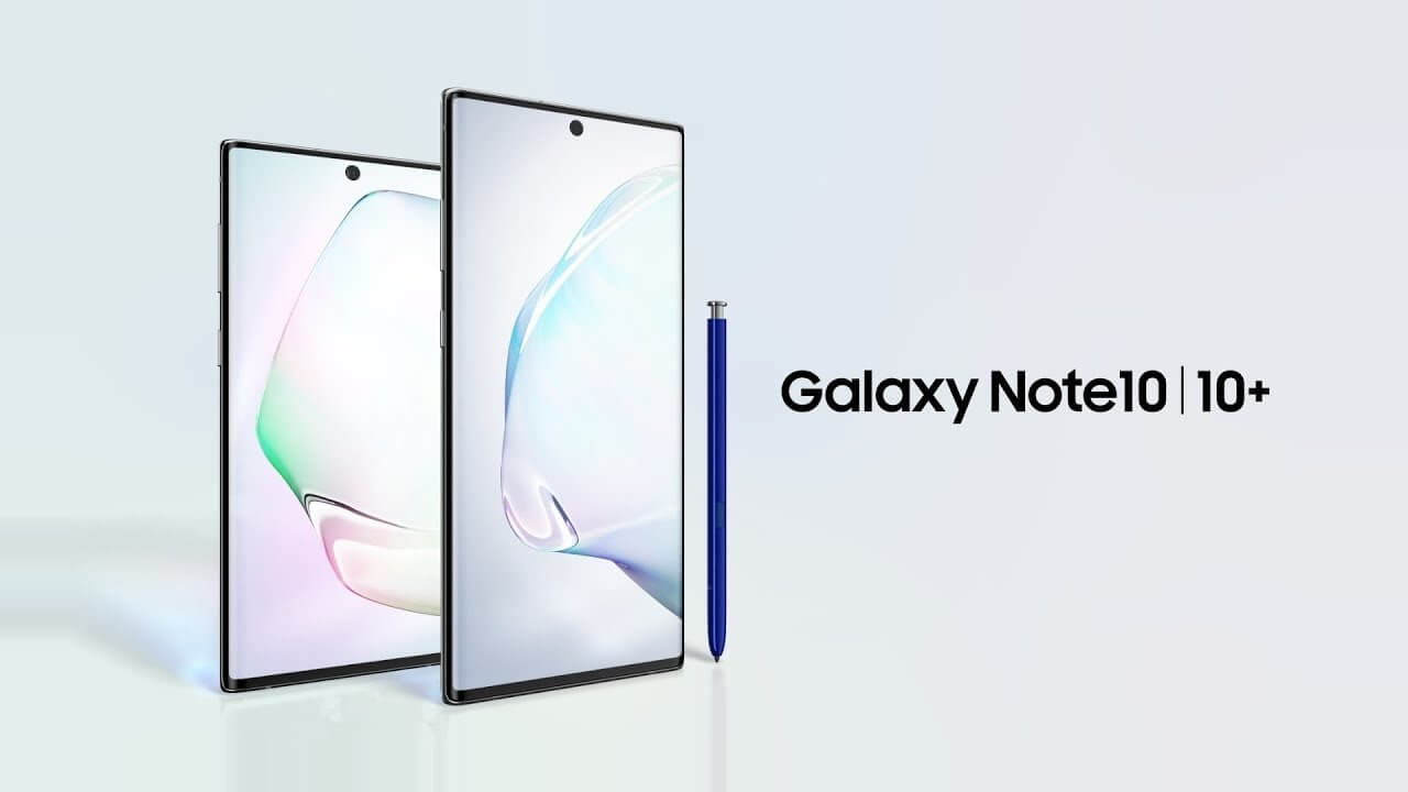 Galaxy Note10: Official Introduction