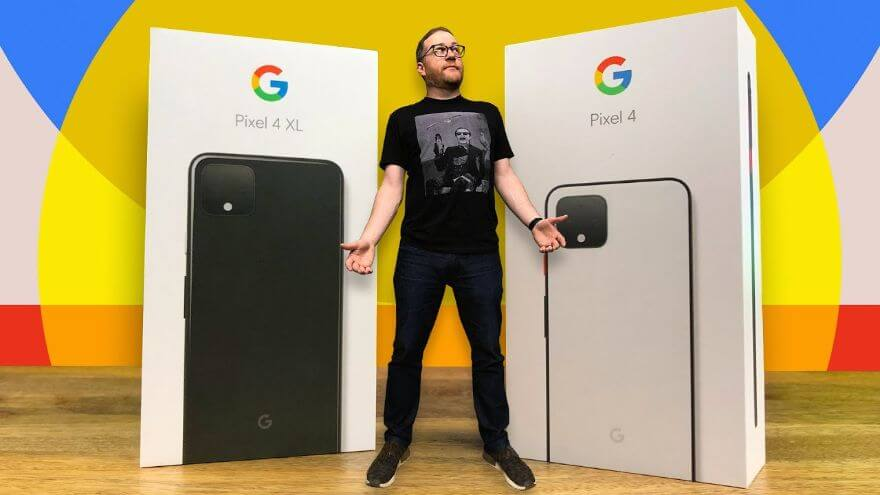 Unboxing the Pixel 4 and 4 XL