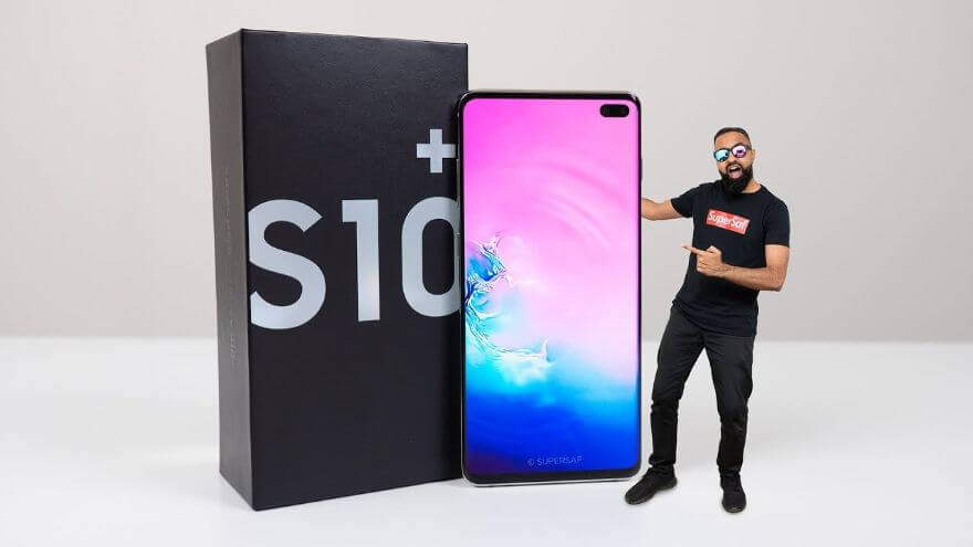 Samsung Galaxy S10 Plus UNBOXING