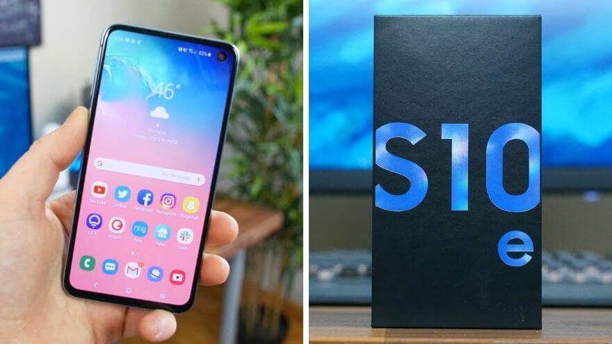 Samsung Galaxy S10e Unboxing and First Impressions