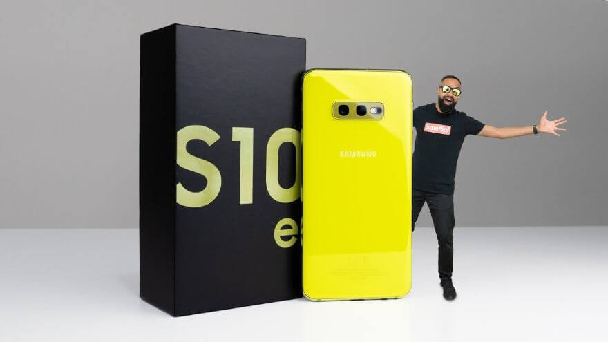 Samsung Galaxy S10e UNBOXING (Canary Yellow)