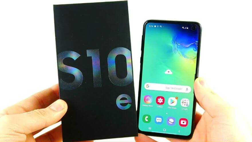 Samsung Galaxy S10e Unboxing!