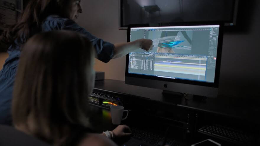 iMac Pro — Michelle Dougherty Behind the Scenes — Apple