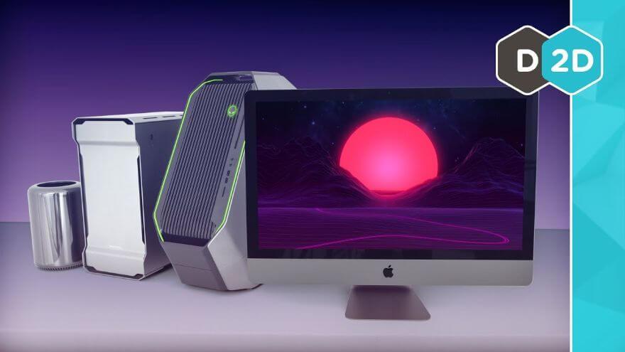 iMac Pro vs. Alienware Threadripper!