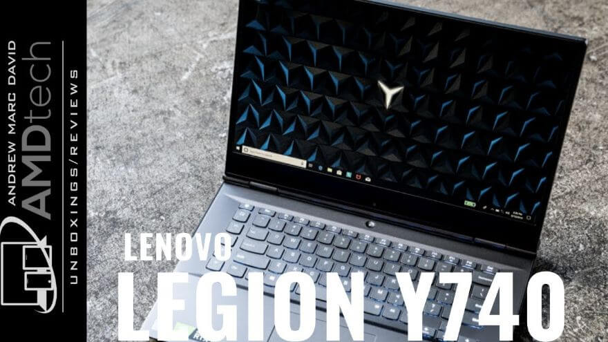 Lenovo Legion Y740 Review (Refreshed Model): Core i7-9750H + RTX 2070