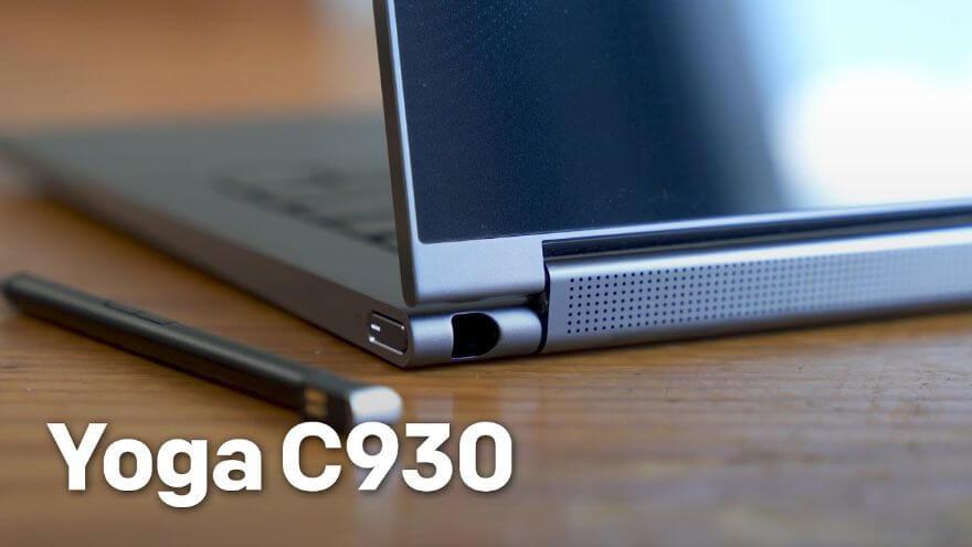 Lenovo Yoga C930 hands-on: Soundbar is the new hinge