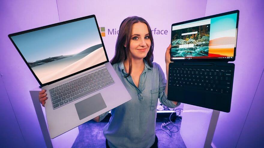 the new Surface Laptop 3 ...Beautiful but Weird