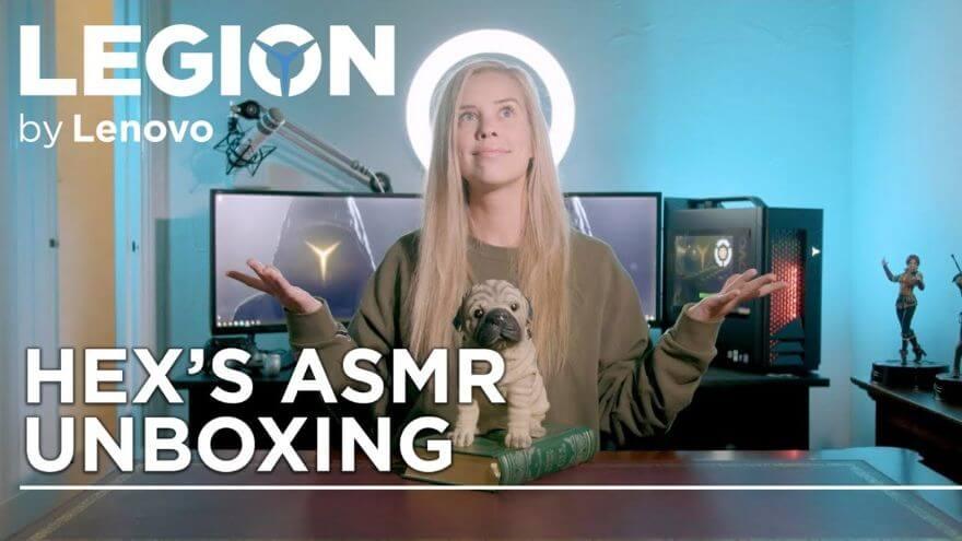 Lenovo Legion Presents: Hex's ASMR Unboxing