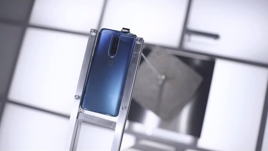 OnePlus 7 Pro - Front camera cement test