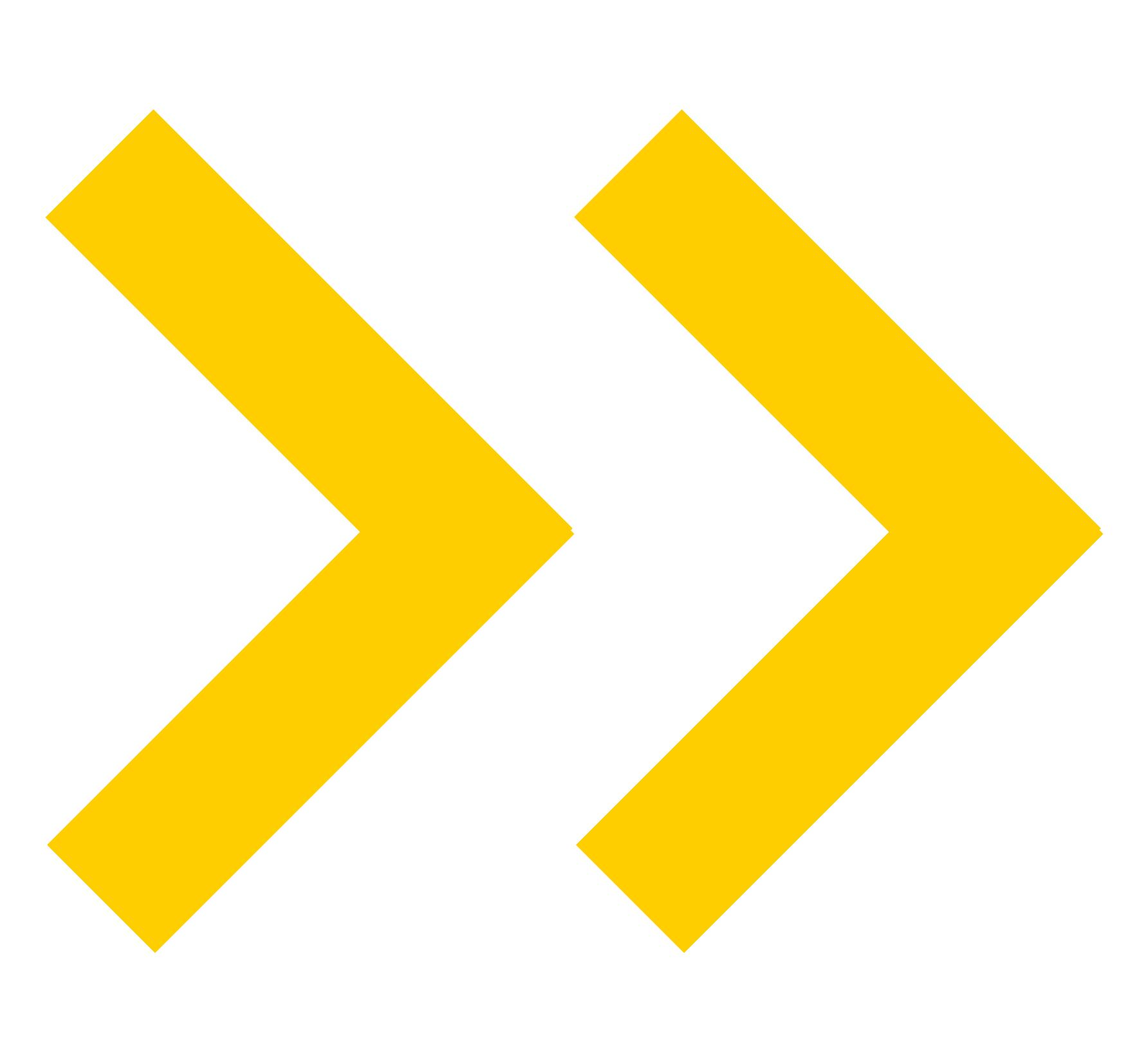 seta amarela decorativa