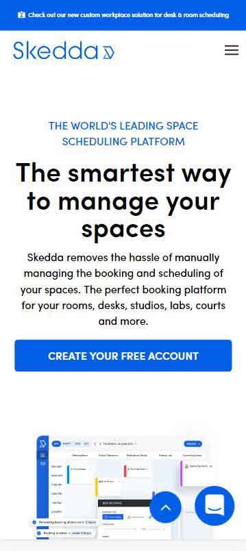 Client website project 1 - Mobile