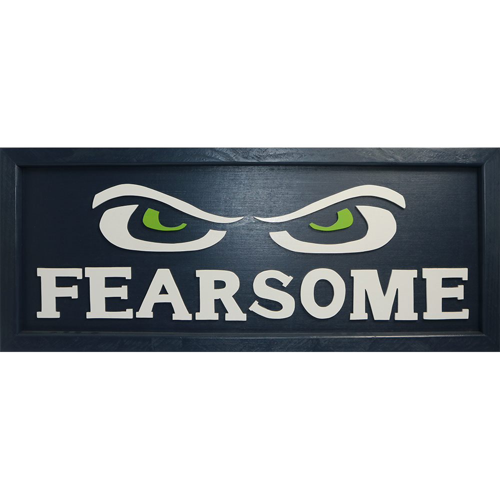 """""""Fearsome"""" Handcrafted Art"""