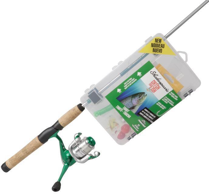 S/SPEAR CMF TROUT SPIN COMBO 2PC