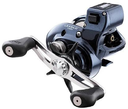 DAIW LEXA 100 L/COUNTER B/CAST REEL