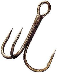 GAMA BRONZE TREBLE HOOK