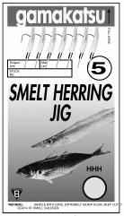 GAMA SMELT/HERRING JIG RIG NICKLE