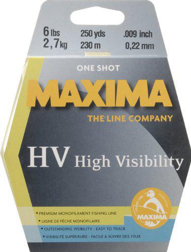 MAXIMA ONE-SHOT SPOOL, HI-VIS YELLOW