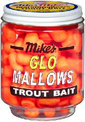MIKE'S CHEESE GLO MALLOWS, ORANGE