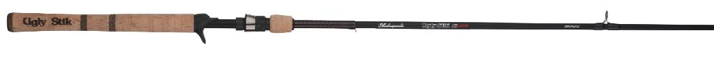 "S/SPEAR U/STIK S/H SPIN ROD 8.6"" 2PC"