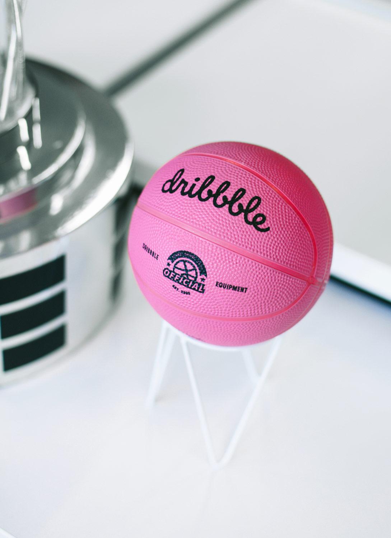 A Dirbbble ball.