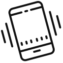 icone telephone sonne