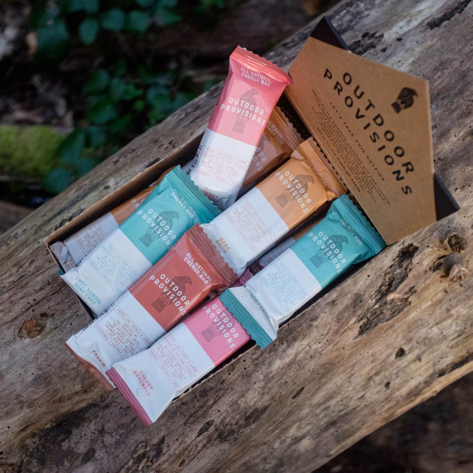 Outdoor Provision Natural Energy Bars
