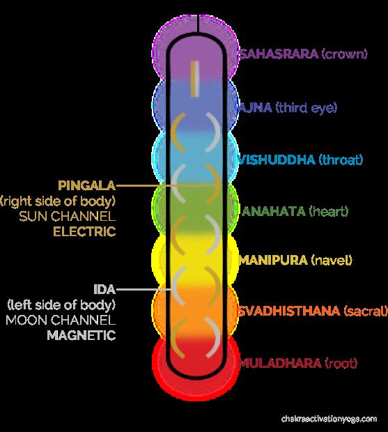 chakra diagram