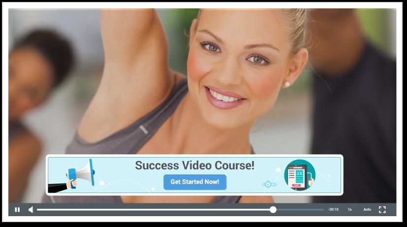 online video overlay