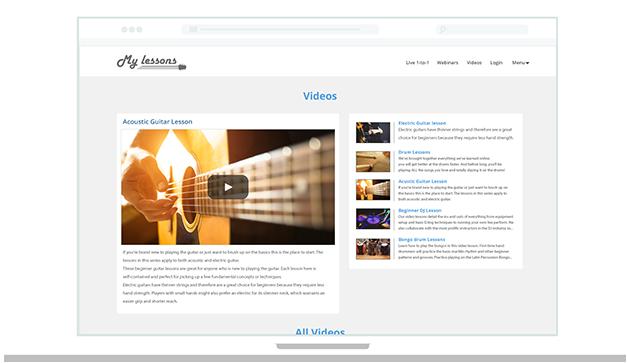 câștigați curs video online