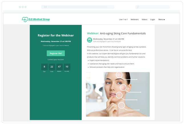 Yondo Webinar Registration Page