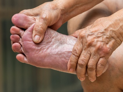 How to care for your feet as you age