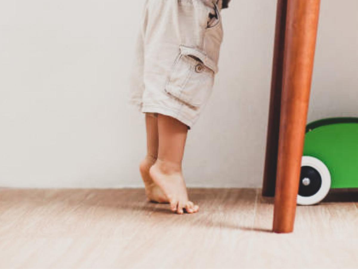 The autism gait