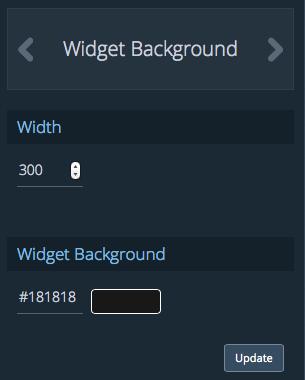 widget bg