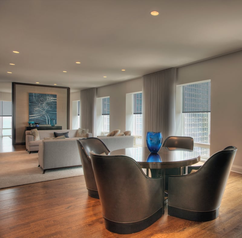 A modern apartment