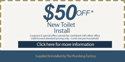 new toilet install coupon
