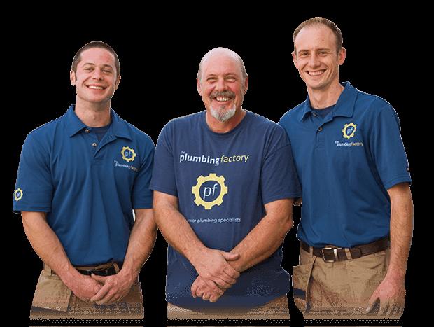 plumbing factory team