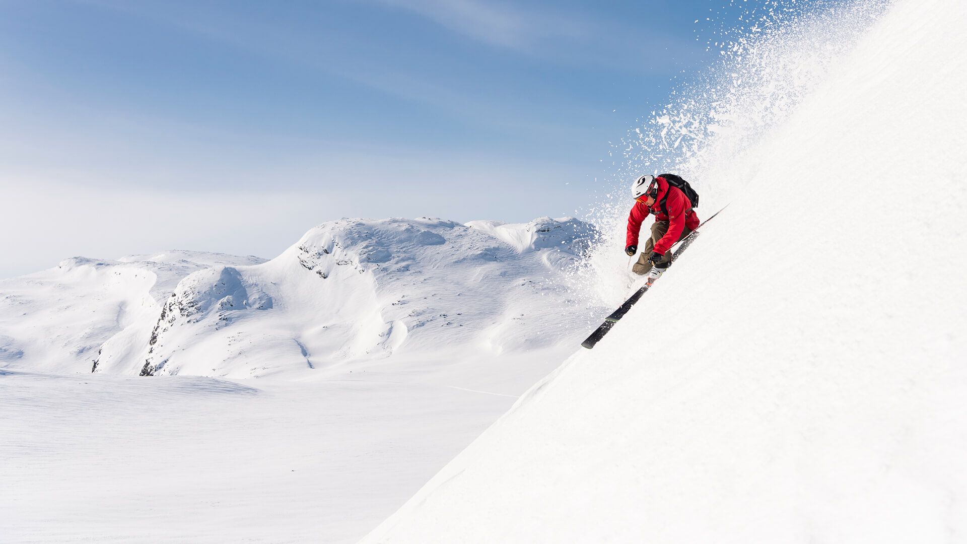 Hemsedal Skisenter ligger ca. minutter unna med bil. Foto SkiStar Hemsedal.