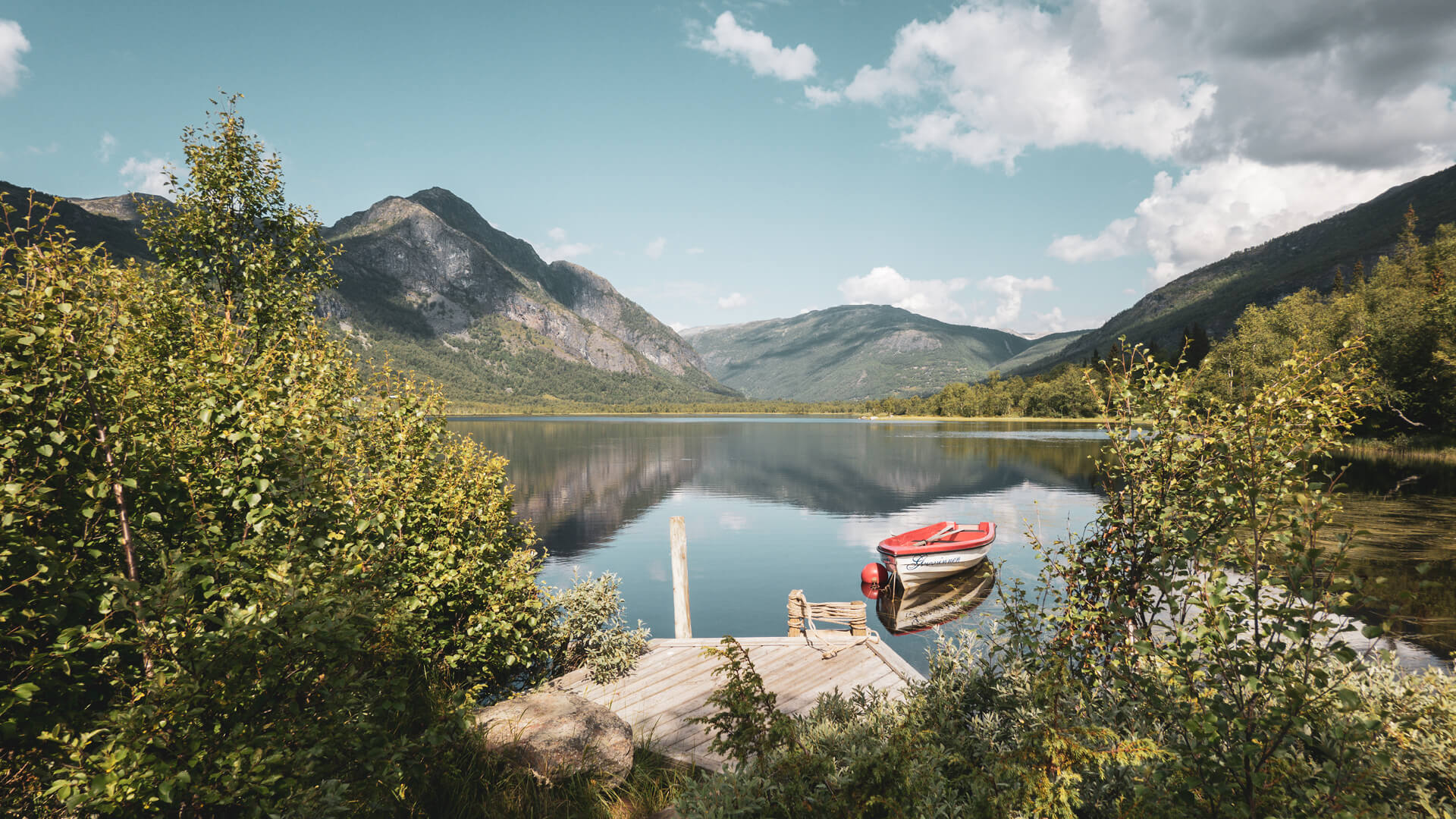 Fagersetvannet. Foto Christoffer Bjerkan.