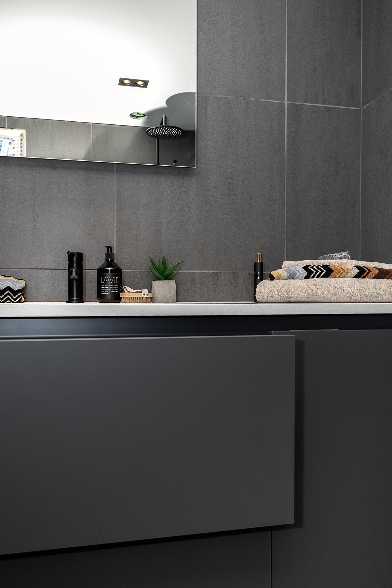 Badet i leilighet B302 på Vaastølen.