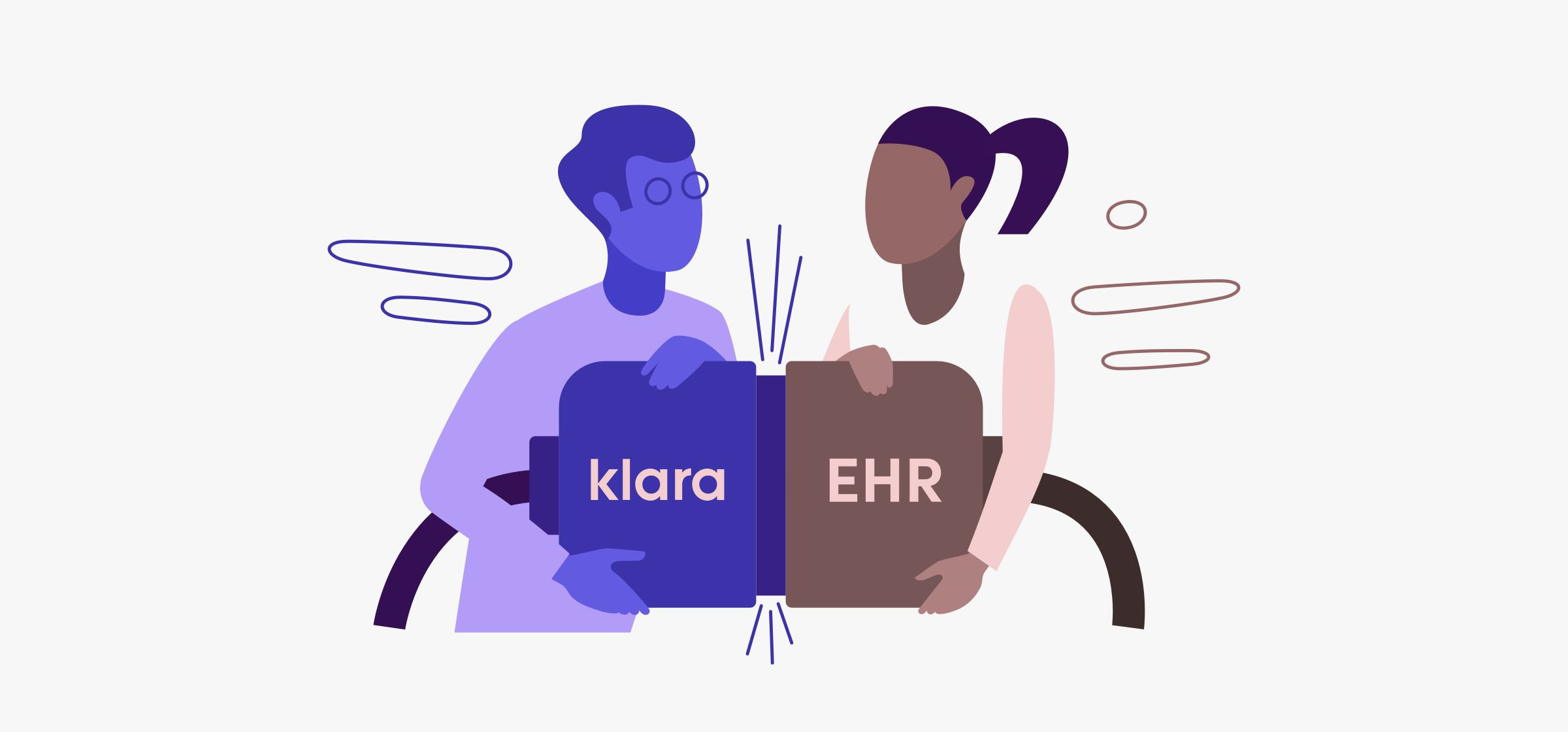 Klara Integrates with Modernizing Medicine to Improve Patient Experience & Automate Workflows