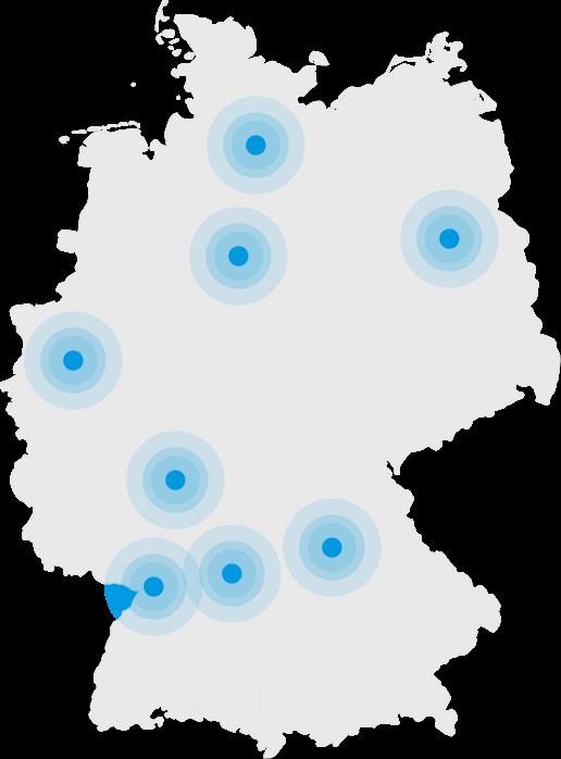 Seit 1989 bieten wir Geotechnik. Heute in den Standorten Hannover, Berlin und Hamburg.