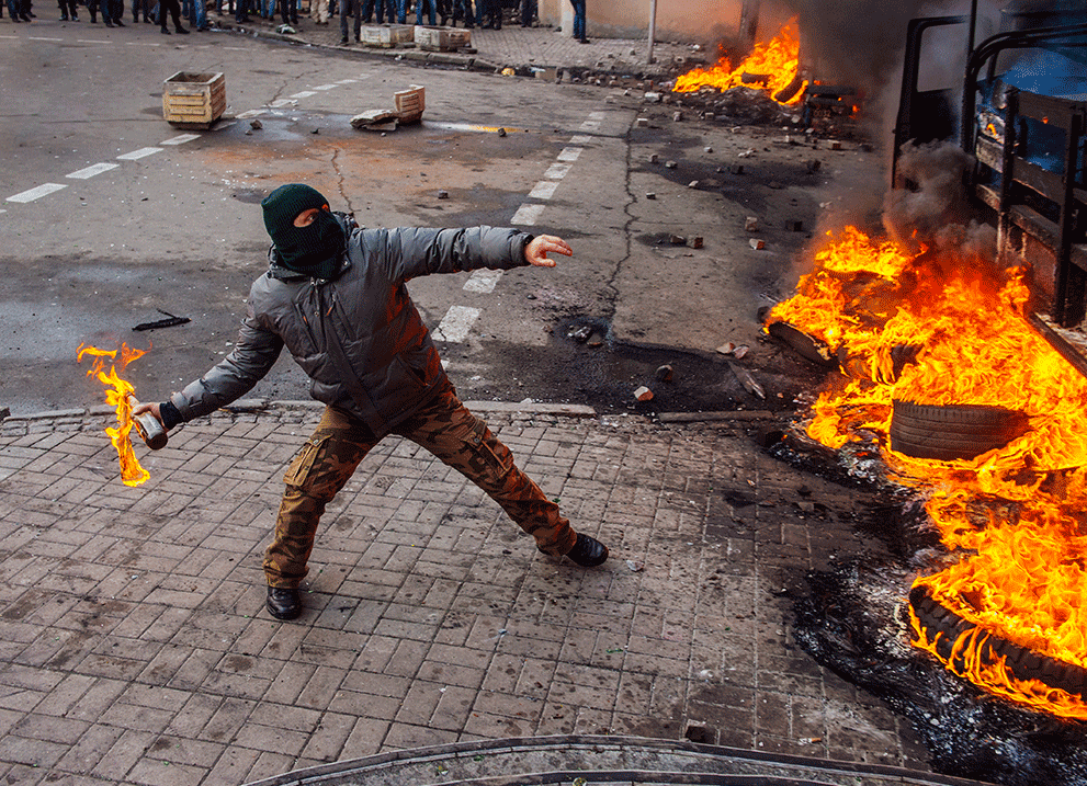 Riots in Keiv